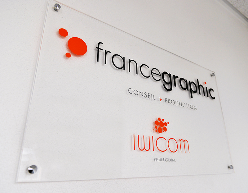 Photo de l'agence graphique France Graphic à Roanne